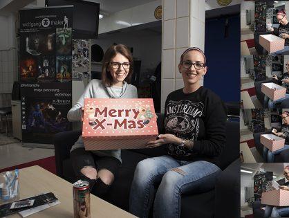 Preisübergabe Weihnachtsgewinnspiel