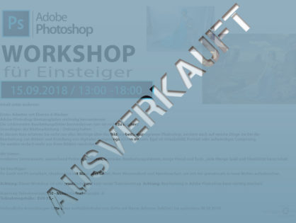 Adobe Photoshop Einsteiger Workshop