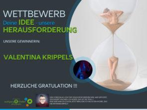 Ideen Wettbewerb – GRATULATION an unsere GEWINNERIN !!