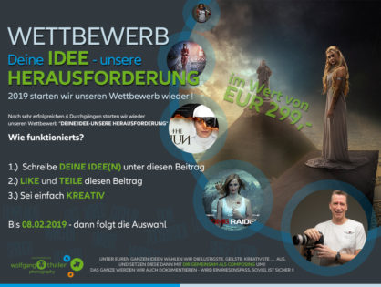 Neuer Ideen Wettbewerb !!!