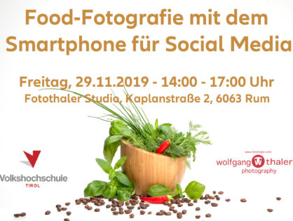 Food-Fotografie mit dem Smartphone für Social Media