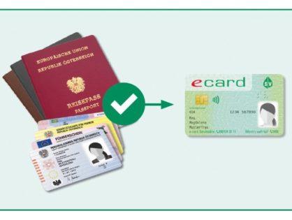 Die neue e-card kommt – mit Foto!