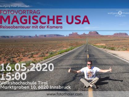 """Fotovortrag """"Magische USA"""""""