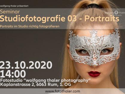 (VHS) Studiofotografie 03 - Portraits