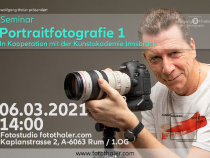 Kunstakademie - Portraitfotografie 1