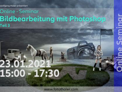ONLINE Seminar - Photoshop Teil 3