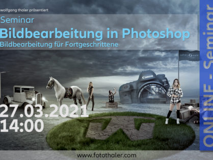 Composing in Photoshop (Fortgeschrittene)