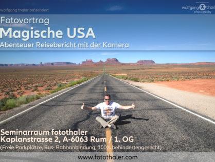 """Fotovortrag - """"Magische USA"""""""