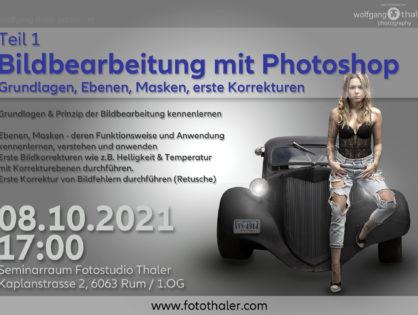 Bildbearbeitung mit Photoshop - Teil 01