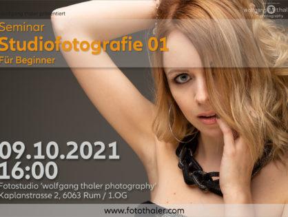 Studiofotografie - Teil 01