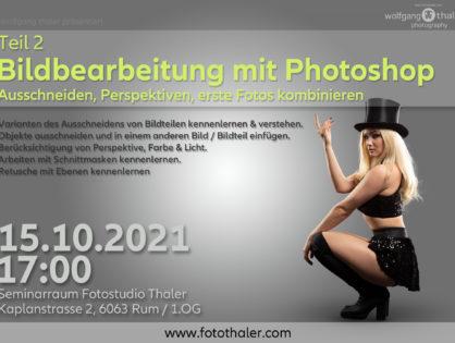 Bildbearbeitung mit Photoshop - Teil 02
