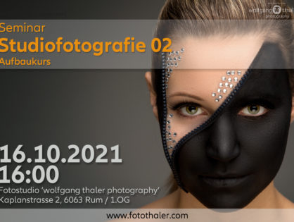 Studiofotografie - Teil 02