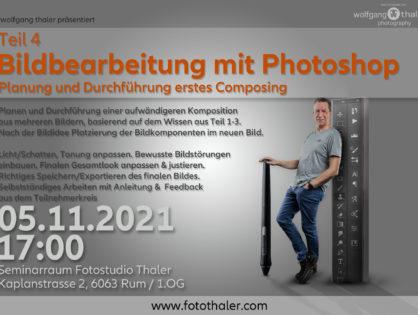 Bildbearbeitung mit Photoshop - Teil 04