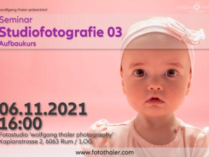 Studiofotografie - Teil 03